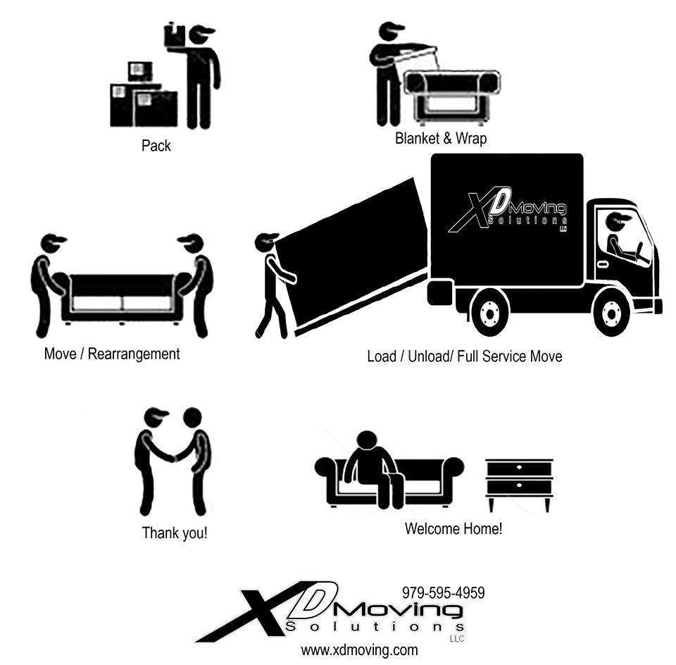 residential moving services Bryan, TX